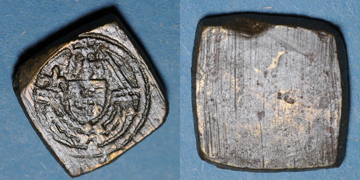 1461-1470 GEWICHTE Grande Bretagne. Poids monétaire du ryal (noble d'or à la rose) d'Edouard IV (1461-1470) R ! R ! ss
