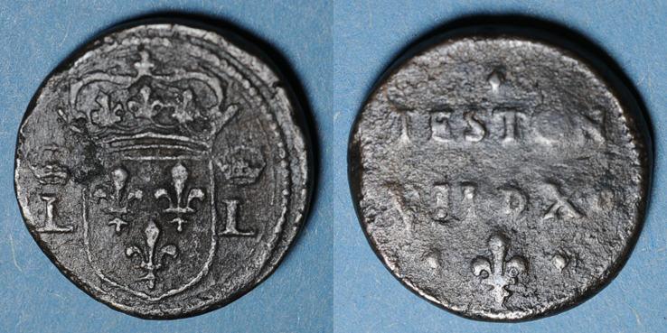 1498-1514 GEWICHTE Louis XII (1498-1514). Poids monétaire du teston R ! ss