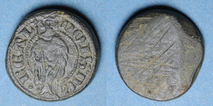 1322-1328 GEWICHTE Charles IV (1322-1328) et Philippe VI (1328-1350). Poids monétaire du royal d'or ss
