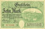DEUTSCHLAND - NOTGELDSCHEINE (1914-1923) A - J  Annaberg. Amtschauptmannschaft. Billet. 1 mark 1.12.1918, timbre sec, cachet d'a