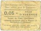 FRANZÖSISCHE NOTSCHEINE Avesnes (59). Magasin de ravitallement. Bille... 14,00 EUR  zzgl. 7,00 EUR Versand