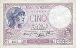 5.10.1939 NOTES OF THE BANQUE DE FRANCE Banque de France. Billet. 5 fr... 15,00 EUR  +  7,00 EUR shipping