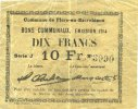 1914 FRANZÖSISCHE NOTSCHEINE Flers-en-Escrébieux (59). Commune. Billet... 30,00 EUR  zzgl. 7,00 EUR Versand