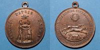 REVOLUTIONÄRE URKUNDEN und KRIEG VON 1870  Révolution de 1848. Série parisienne de 1849. Médaille cuivre. 31,7 mm