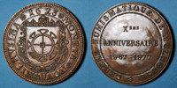 ELSAß  Alsace. Mulhouse. 10e anniversaire du Cercle Numismatique de Mulhouse 1967-1977.