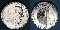 FRANZÖSISCHE MODERNE MÜNZEN  5e république (1959-). 10 francs 1986.