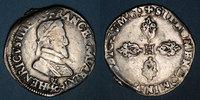 FRANZÖSISCHE KÖNIGLICHE MÜNZEN  Henri IV (1589-1610). 1/2 franc 1603&. Aix