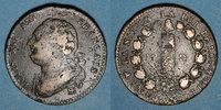 FRANZÖSISCHE MODERNE MÜNZEN  Constitution (1791-1792). 12 deniers 1792BB. Strasbourg. Type