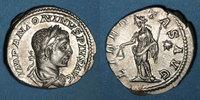 RÖMISCHE KAISERZEIT  Elagabale (218-222). Denier. Rome, 220-221. R/: la Liberté debout à gauche