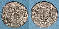 LOTHRINGEN  Duché de Lorraine. Charles IV, 1er règne (1625-1634). Double denier. Nancy