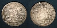 ISLAM  Anatolie. Ottomans. Mahmoud I (1143-68H). Qurush1143H / marque d'atelier : 'ayn-