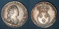FRANZÖSISCHE KÖNIGLICHE MÜNZEN  Louis XV (1715-1774). 1/10 écu vertugadin 1716&. Aix. Réformation !