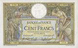 BANKNOTEN DER BANQUE DE FRANCE  Banque de France. Billet. 100 francs Merson