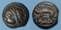 KELTISCHE MÜNZEN  Leuques (région de Toul) (2e moitié du 1er siècle av. J-C). Potin, classe Ic ave