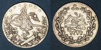 WELTMÜNZEN A bis G  Egypte. Mehmet V (1327-1332H = 1909-1914). 10 qirsh 1327/6H (= 1913)