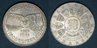 1963 EUROPE Autriche. République. 50 schilling 1963. '600e anniversair... 14,00 EUR  +  7,00 EUR shipping