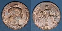 1916 FRENCH MODERN COINS 3e république (1870-1940). 5 cmes Dupuis, 191... 5,30 EUR  +  7,00 EUR shipping