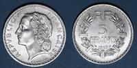 1949 FRENCH MODERN COINS 4e république (1947-1959). 5 francs Lavrillie... 6,00 EUR  +  7,00 EUR shipping