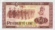 1964 OTHER FOREIGN NOTES Albanie. République Populaire. Billet. 50 lek... 8,00 EUR  +  7,00 EUR shipping
