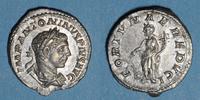 RÖMISCHE KAISERZEIT  Elagabale (218-222). Denier. Rome, 220-221. R/: la Fortune debout à gauche