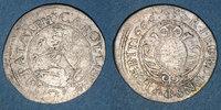 ALTDEUTSCHLAND MÜNZEN  Palatinat-Simmern. Charles Louis (1648-1680). 2 kreuzer 1664