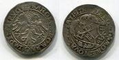 10 Kreuzer 1530 Regensburg 10 Kreuzer 1530, mit Titel Karls V., erste Regensburger Münzperiode ss+ prägeschwäche