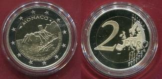 Monaco 2 Euro Gedenkmünze Commemorative Coin 2015