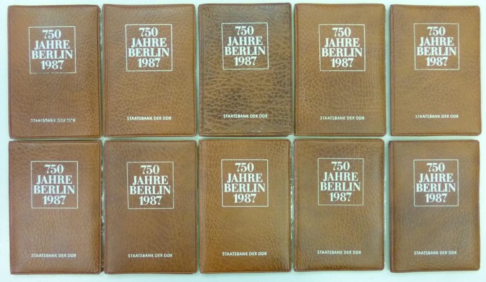 10 x themensatz 4 x 5 mark 750 jahre berlin 1987 ddr h ndlerlot 10 st ck ddr 4 x 5 mark 1987 cu. Black Bedroom Furniture Sets. Home Design Ideas