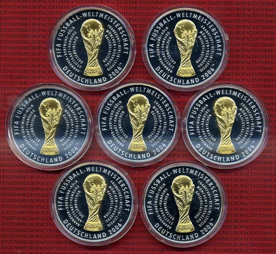 Pokale & Preise 10 Stück Medaillen  METALL NEUWARE Champion