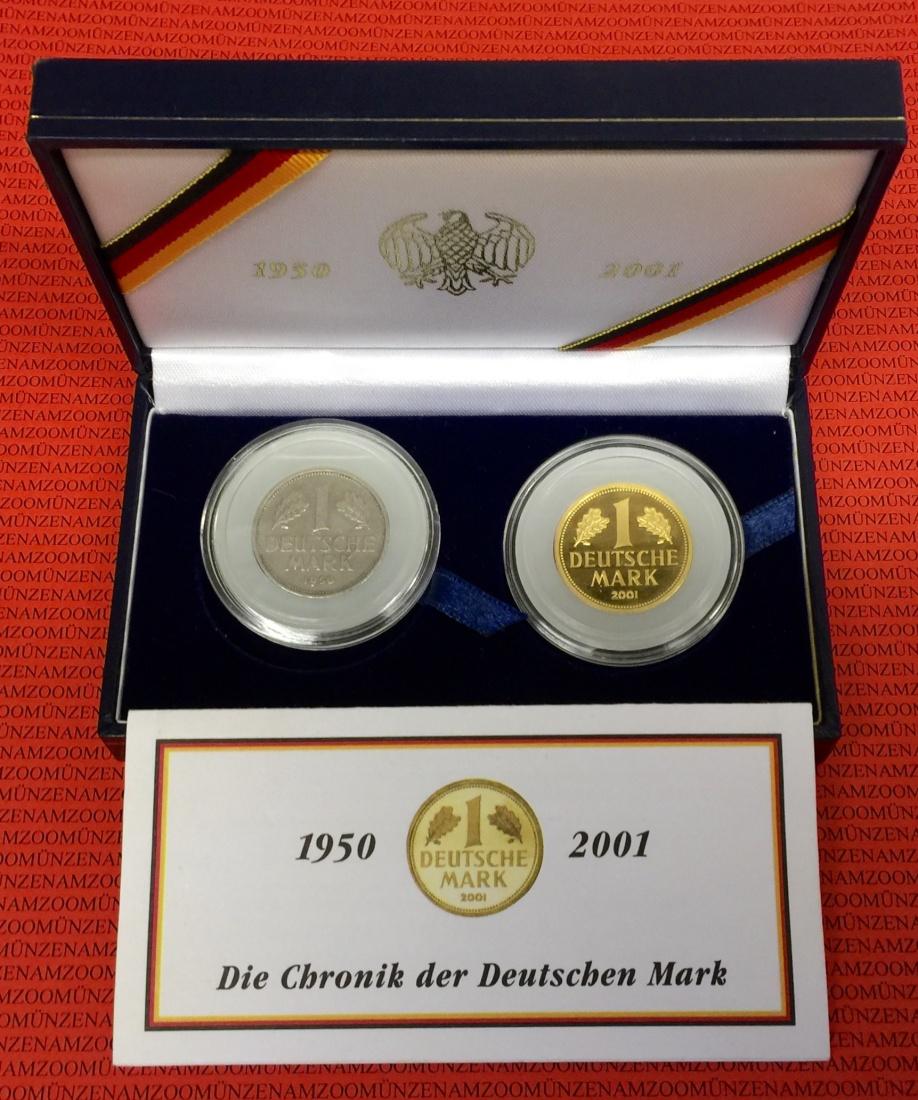 1 dm gold mark 2001 d bundesrepublik deutschland. Black Bedroom Furniture Sets. Home Design Ideas