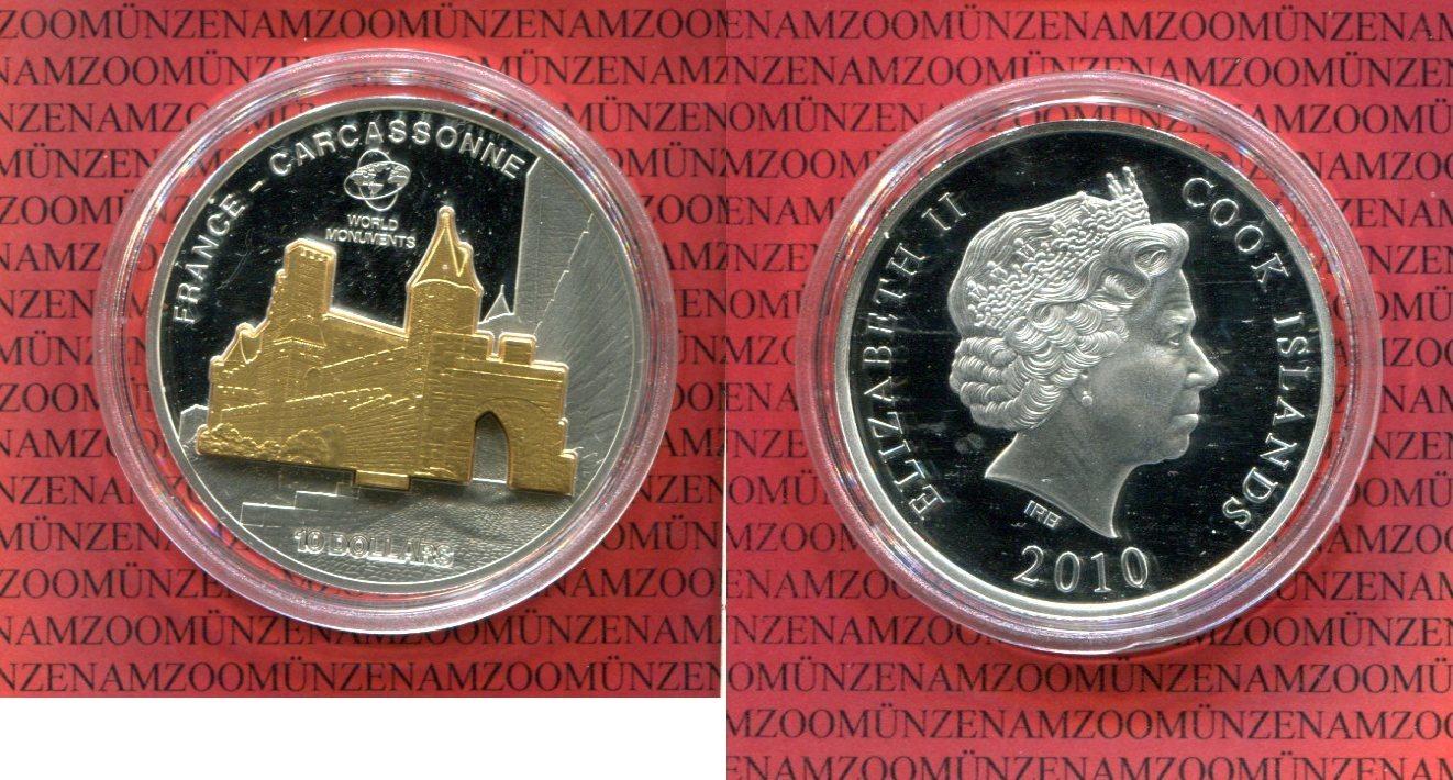 10 Dollar 2010 Cook Islands Cook Islands 10 Dollar Skulpturmünze
