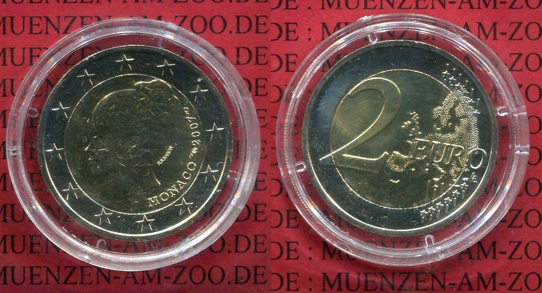 2 Euro Grace Kelly Ovp 2007 Monaco Monaco 2 Euro 2007 Grace Kelly