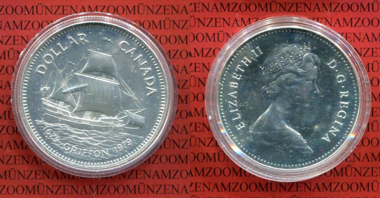 1 Dollar Silber 1979 Kanada Canada Kanada 1 Dollar Silber