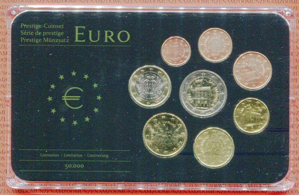 Kursmünzensatz 3,88 Euro 2006-2011 San Marino San Marino KMS 1 Cent ...