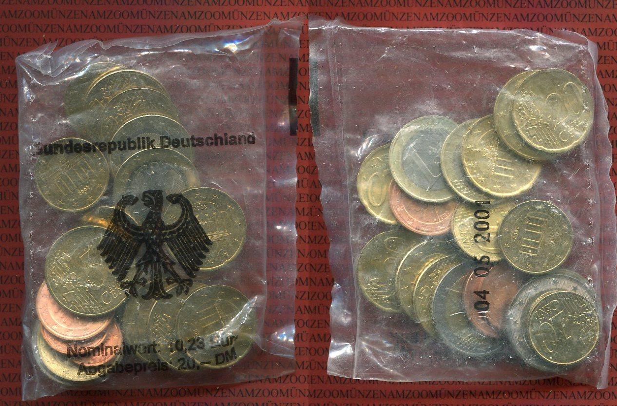 10,23 Euro Nominalwert 2002 A Bundesrepublik Deutschland Starterkit Ovp Prägestätte Berlin unedel