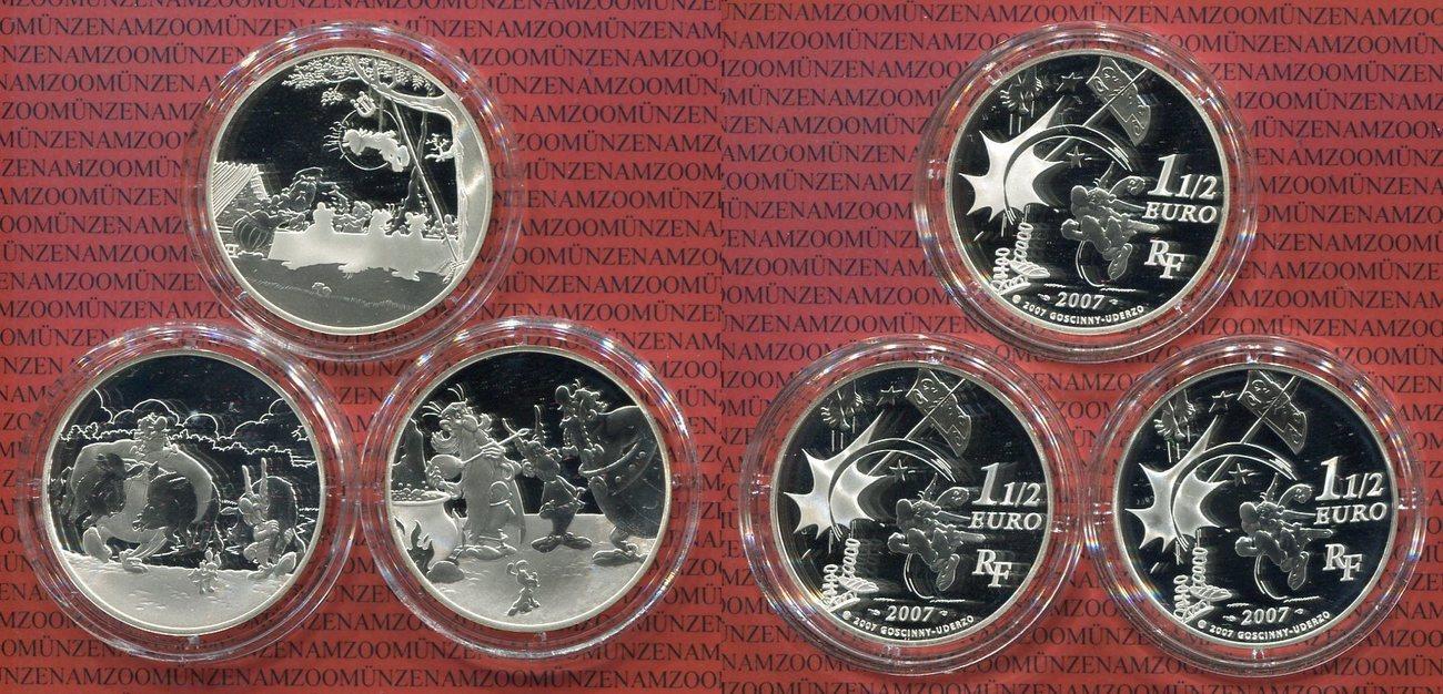 2 Euro Münzen Frankreich 2007 Nora Kdesign