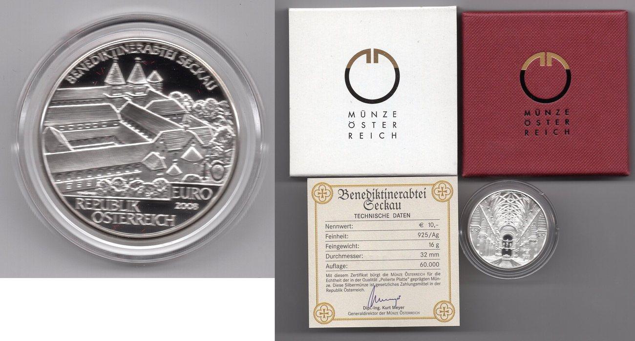 10 Euro Silbermünze 2008 österreich 10 Euro Silbermünze