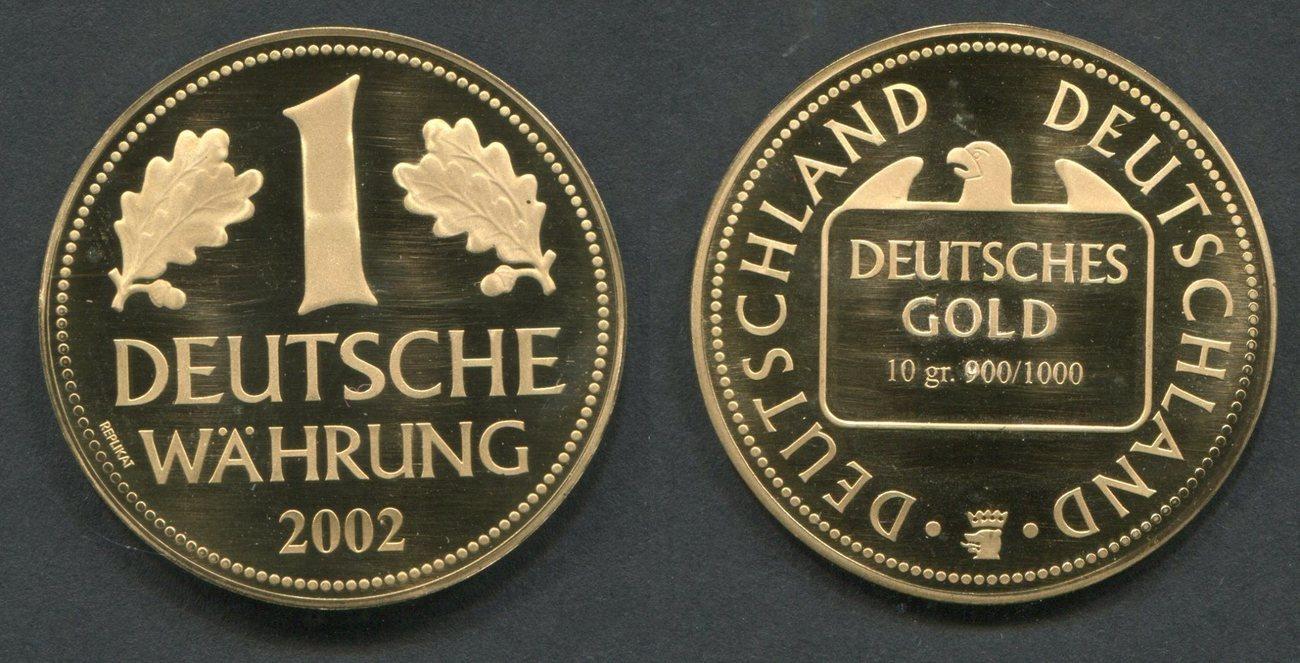 1 Deutsche Währung 2002 Bundesrepublik Deutschland Frg Germany