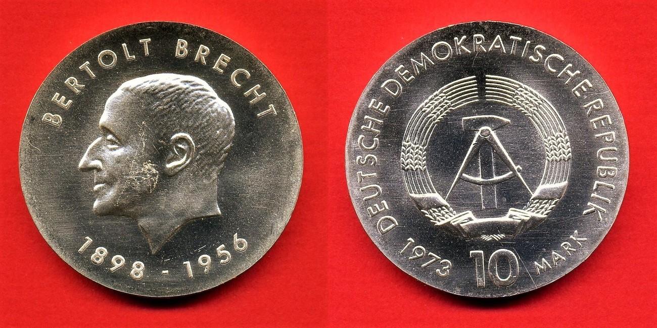 10 mark 1973 deutsche demokratische republik ddr gbr. Black Bedroom Furniture Sets. Home Design Ideas