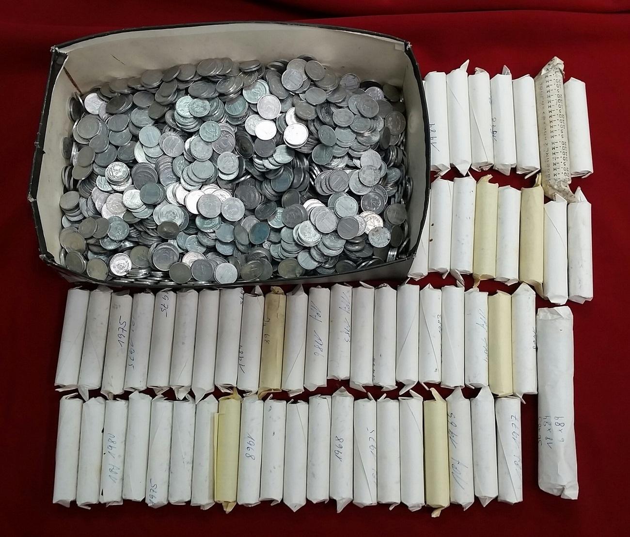 Lot Von Ddr Kursmünzen Versch Jahre Ddr Ca 5200 Gramm Ddr Münzen