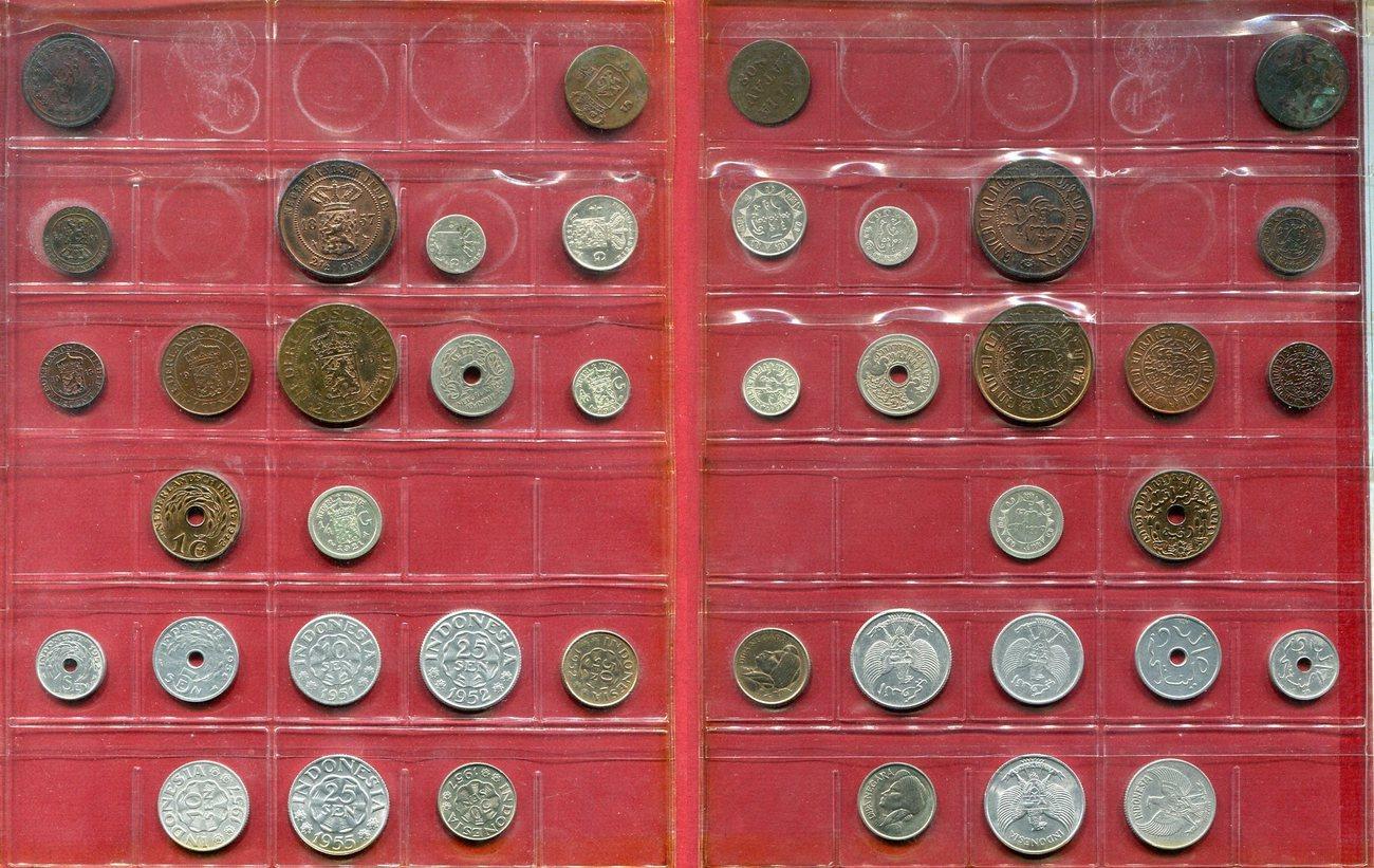 Lot 22 Münzen Niederländisch Indien Indonesien Mixed Lot Siehe Bild