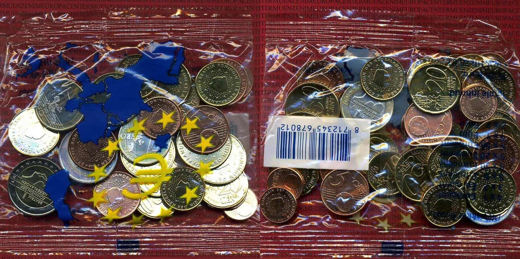 Starterkit 11,35 Euro Nominalwert 2001 Niederlande Starterkit Ovp