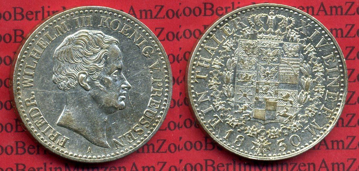 1 Taler Silbermünze 1830 Preußen Königreich Preußen Taler 1830 A
