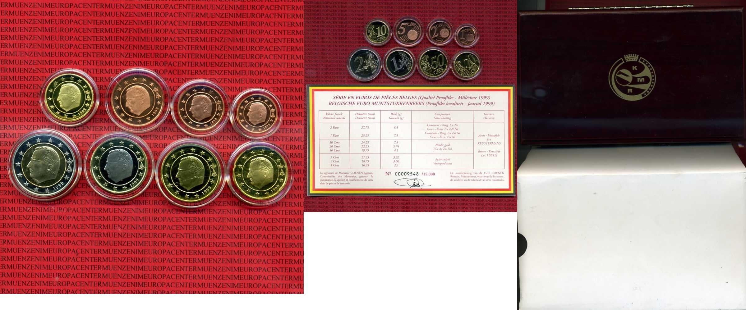 kms 1 cent 2 euro 1999 belgien belgien kursm nzen 1 cent 2 euro 1999 holzbox zertifikat polierte. Black Bedroom Furniture Sets. Home Design Ideas