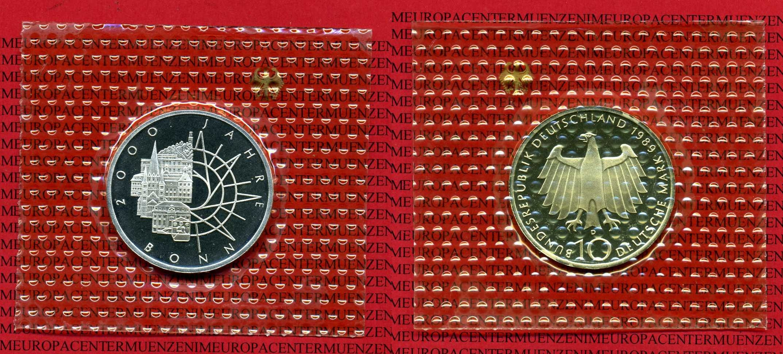 10 Dm Münze 625 Silber 32 Mm 155 G 1989 Bundesrepublik