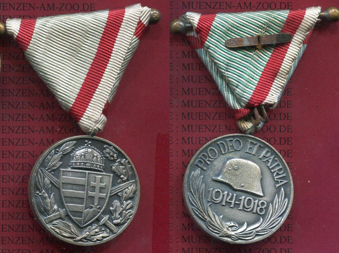 medaille 1918 sterreich ungarn medaille sterreich ungarn 1914 1918 pro deo et patria mit band. Black Bedroom Furniture Sets. Home Design Ideas
