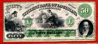 50 Dollars Banknote vor 1865 USA CSA Louisiana Shreveport 50 Dollars Ba... 550,00 EUR  +  8,50 EUR shipping