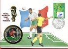 500 Won Numisbrief 1998 Nordkorea BRD Numisbrief 1998 Fußball-WM Frankr... 4378 руб 69,00 EUR  zzgl. 266 руб Versand