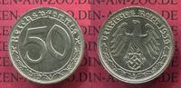 Deutschland 1933-1945 50 Pfennig 1933-1945 50 Pfennig 1939 B Ni J. 365 Wien ! Vienna mint