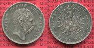 5 Mark 1876 E Sachsen König Albert , überdurchschnittlich erhalten gute... 100,00 EUR  +  8,50 EUR shipping